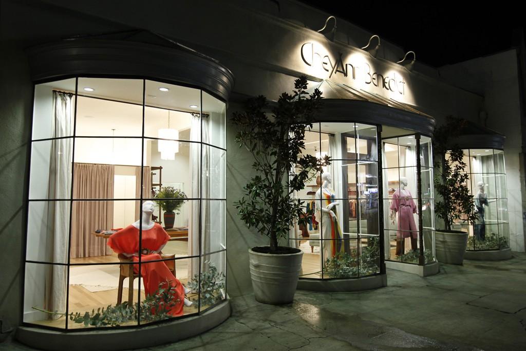 Exterior of Cheyann Benedict's La Brea Avenue boutique.