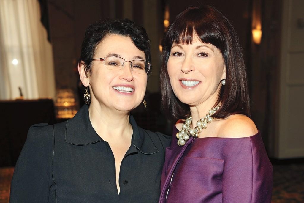 Alina Roytberg and Pamela Baxter