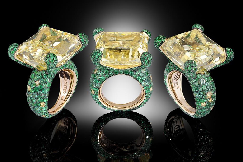 De Grisogono rings.