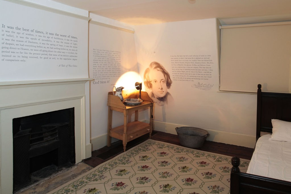A look inside the Charles Dickens Museum.