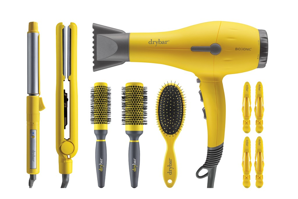 Products from Drybar's new tool and implement line.