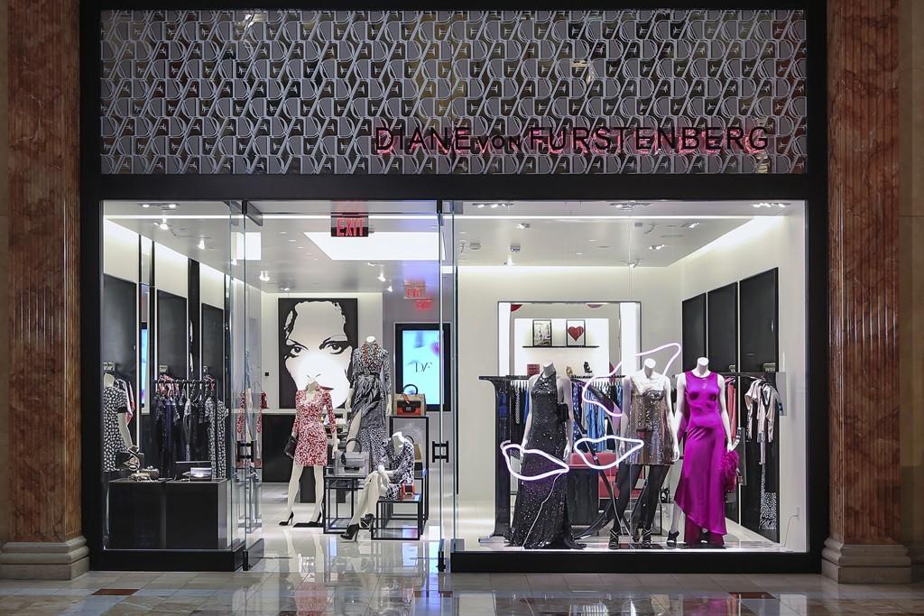 The Diane von Furstenberg store at The Forum Shops in Las Vegas.