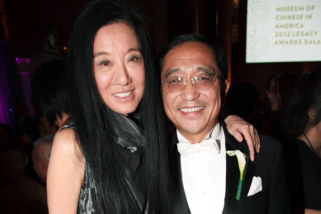 Vera Wang and Silas Chou