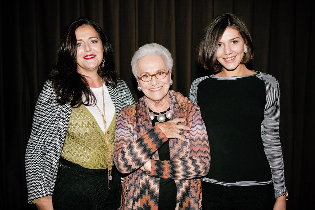 Angela, Rosita and Margherita Missoni.