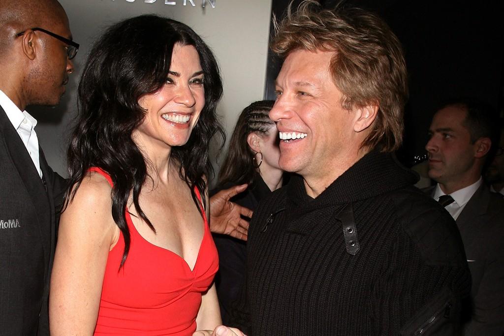 Julianna Margulies and Jon Bon Jovi