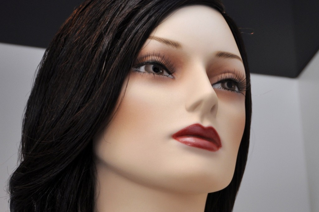 Almax's EyeSee mannequins can be equipped with surveillance cameras.