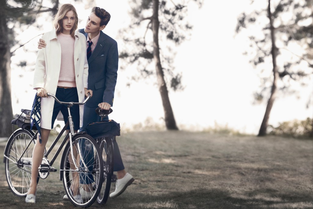 A visual from Gant's spring campaign by Baron + Baron.