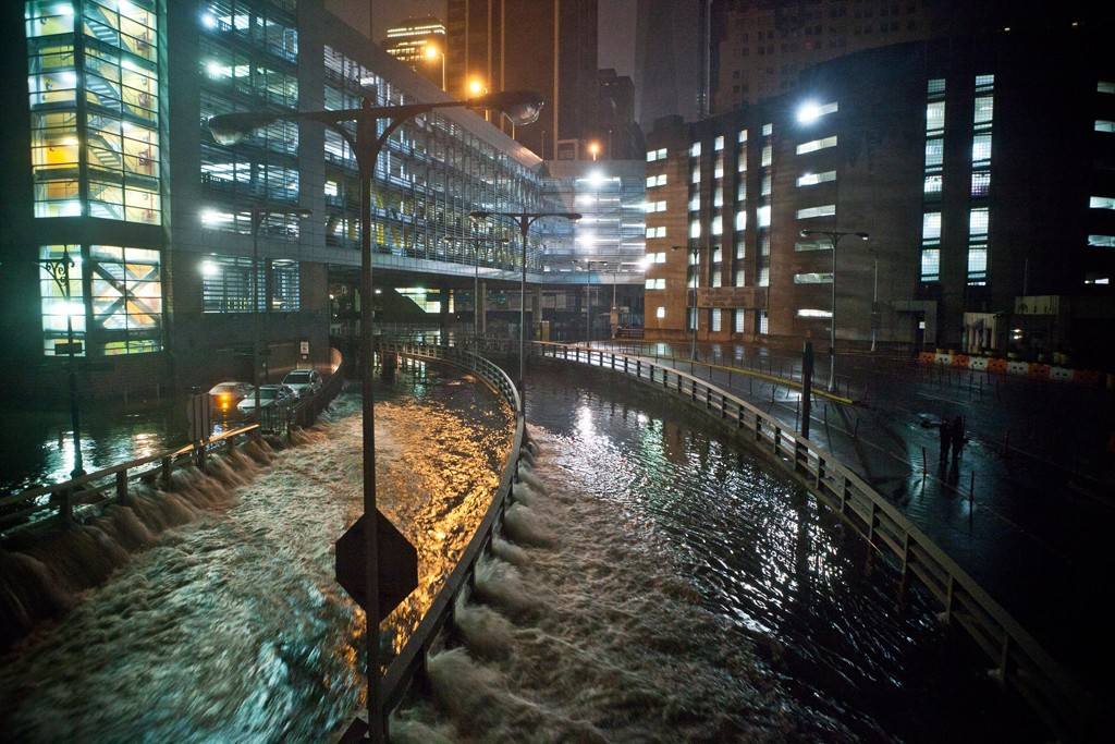 Hurricane Sandy walloped the East Coast with gale force winds and record-setting storm surges.