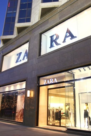 A Zara store in Beijing.