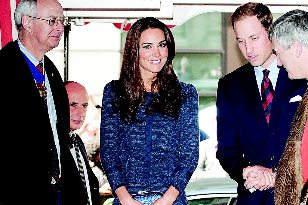The Duchess of Cambridge in April, 2012.