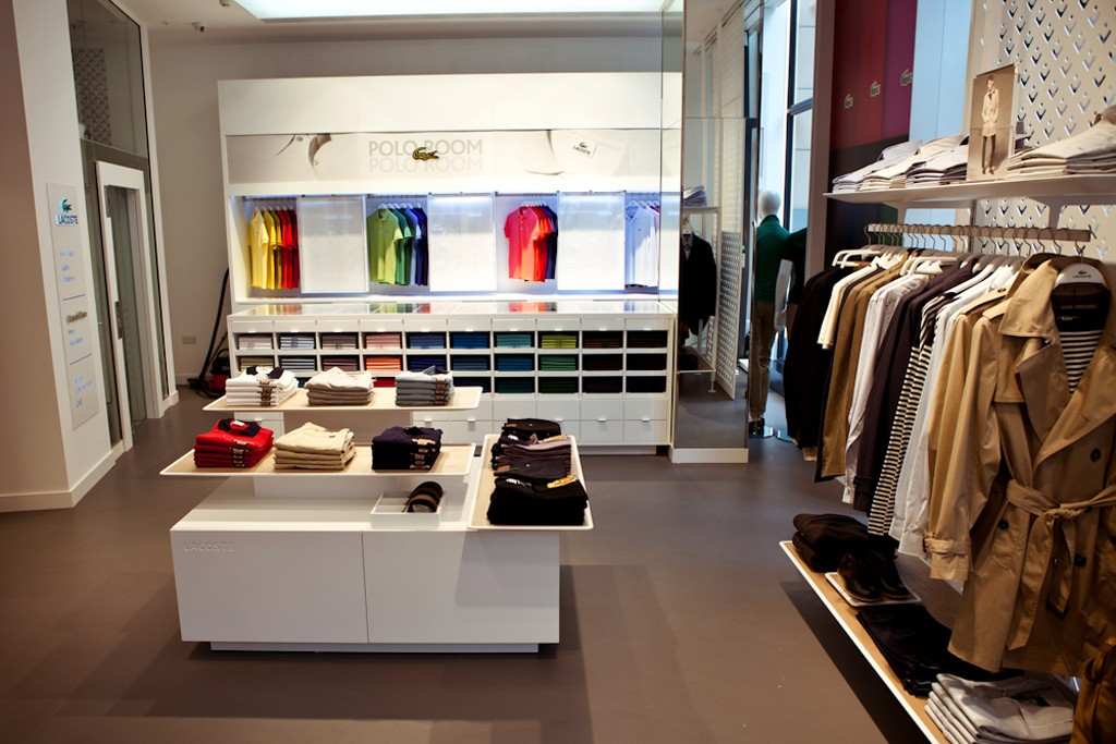 A Lacoste store.