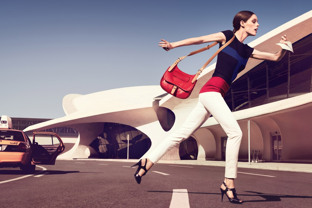 The Longchamp spring-summer 2013 campaign