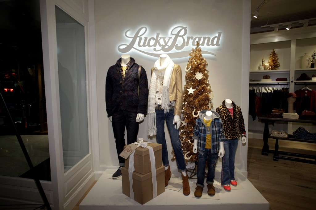 The Lucky Brand store at The Shops at Columbus Circle in New York.