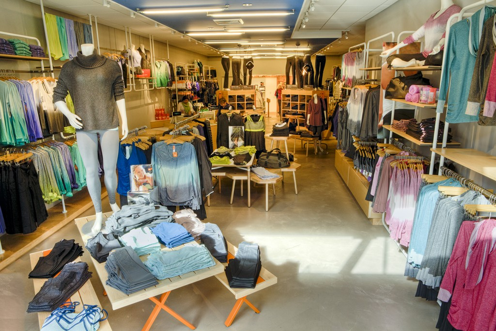 A view of the Lucy prototype store.