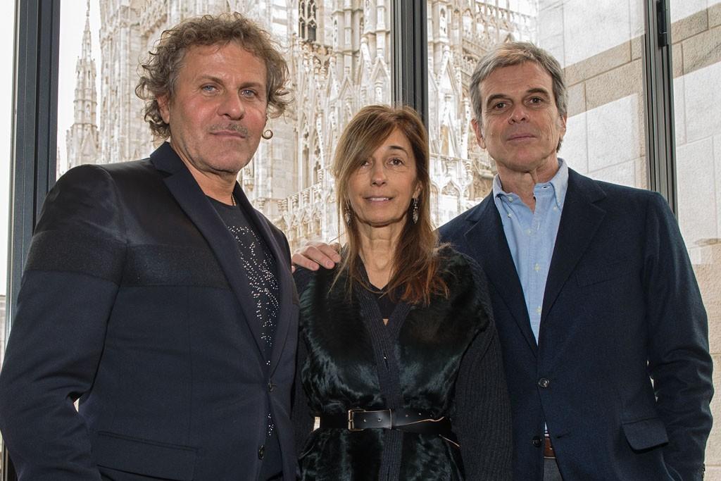 Renzo Rossi, Consuelo and Gianni Castiglioni.