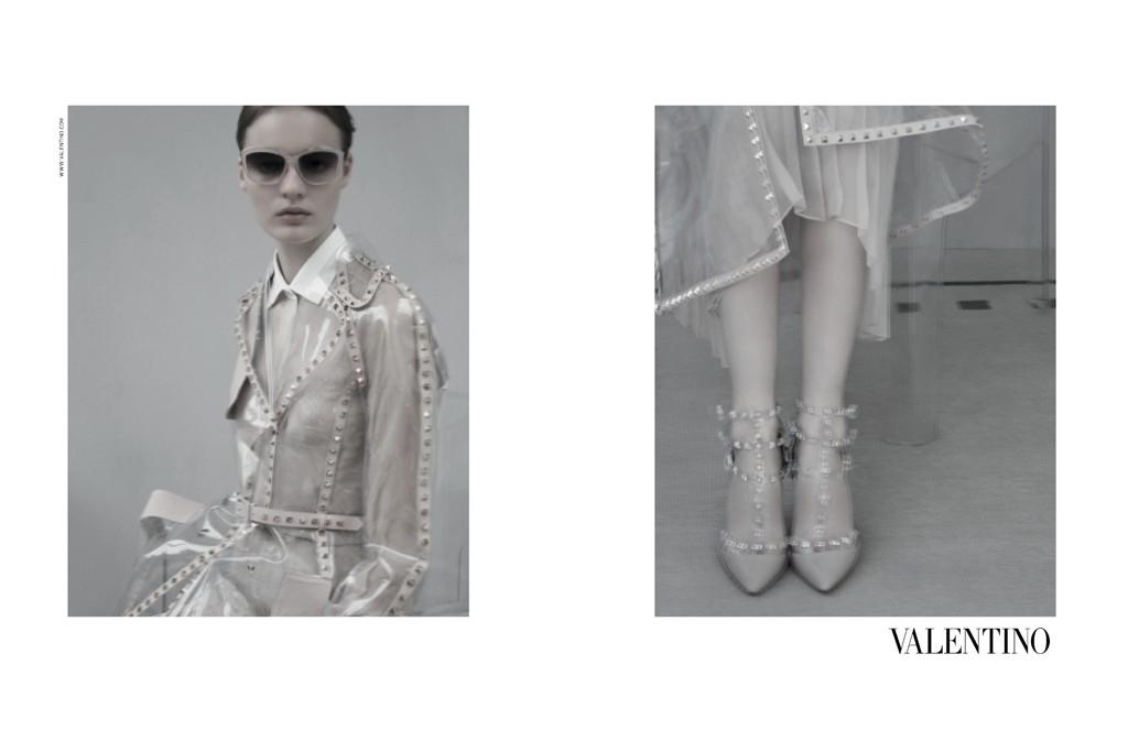 Valentino's spring ad campaign.
