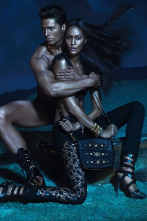 Versace's spring ad campaign.