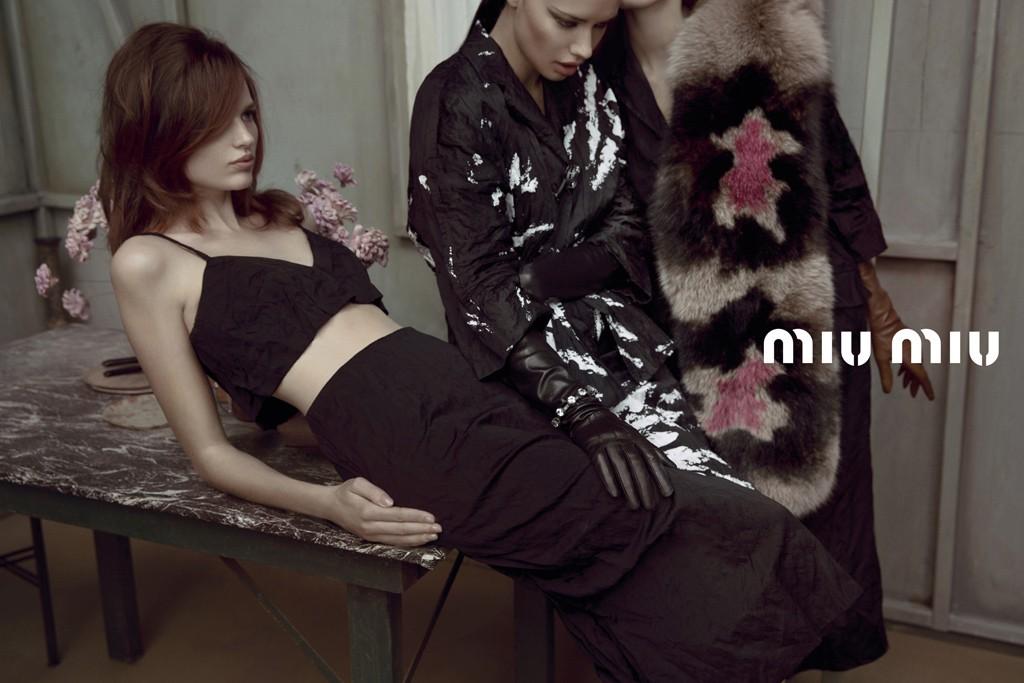 Miu Miu's spring ad campaign.