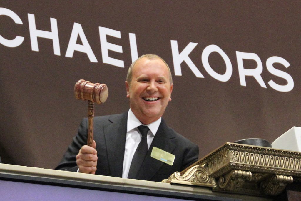 Michael Kors on opening day.