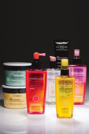 L'Oréal's Advanced Haircare products.