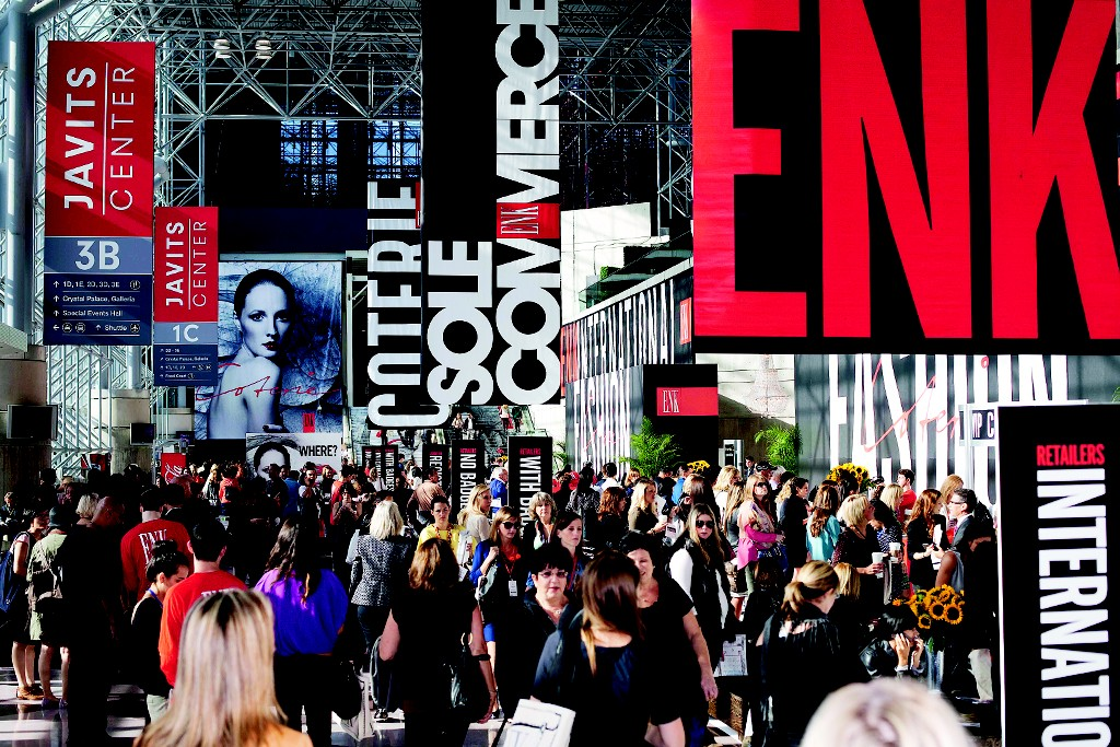A view of the ENK trade show.