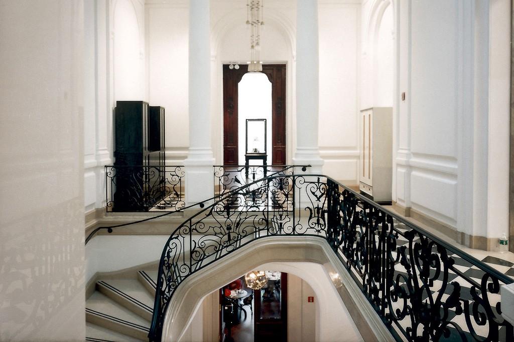 Annabelle Selldorf's Neue Galerie interior.