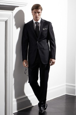 Looks from the Samuelsohn 1923 Black Label collection.