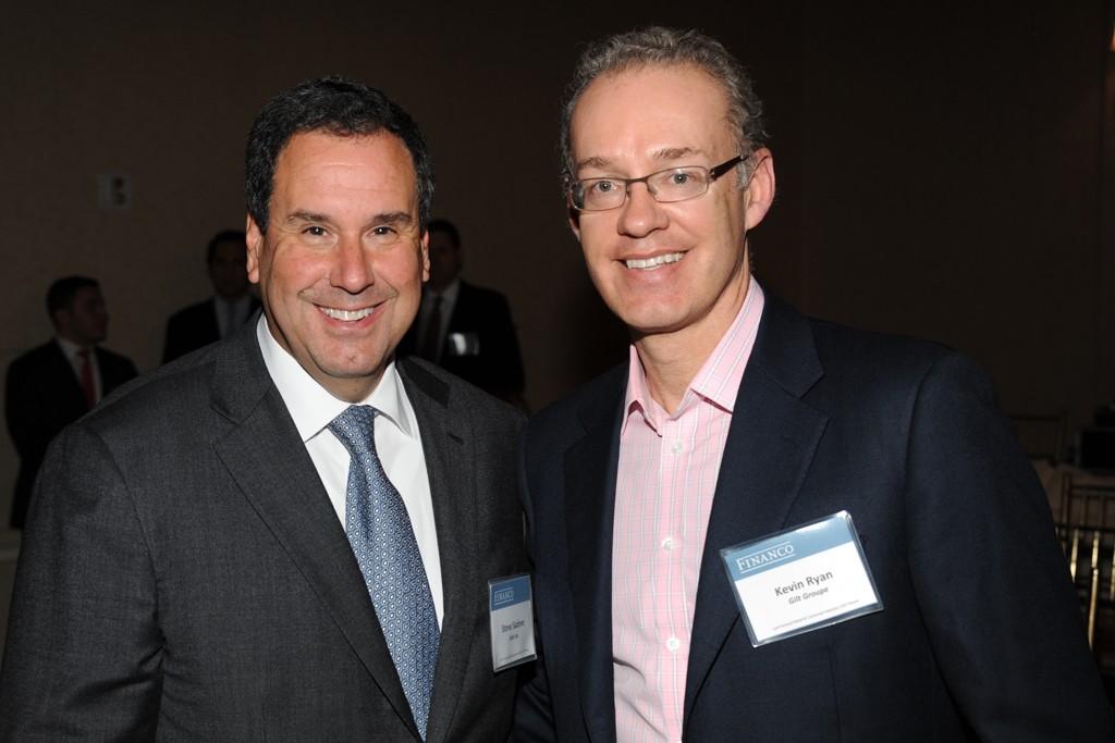 Steve Sadove and Kevin Ryan