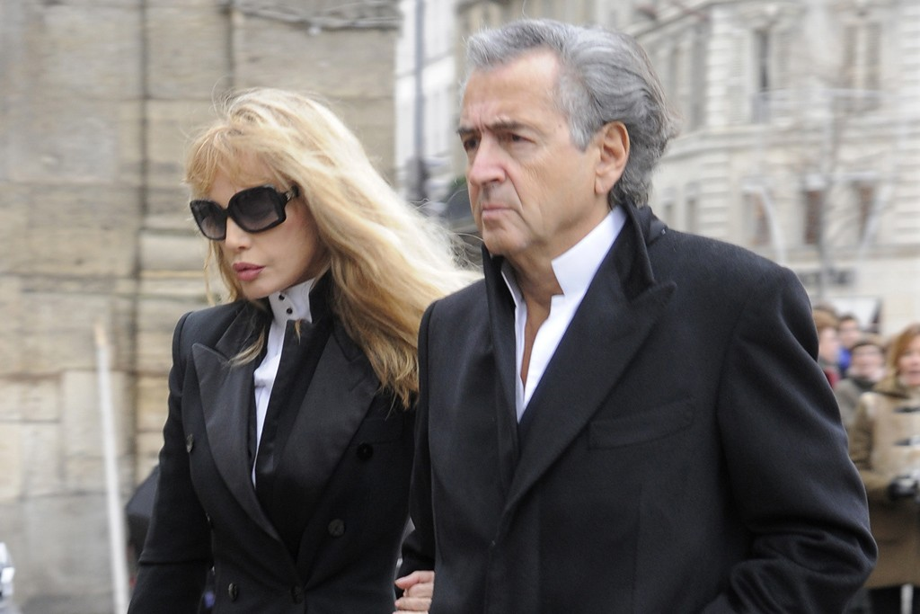 Arielle Dombasle and Bernard-Henri Lévy