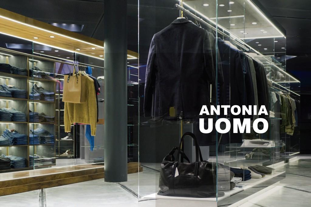 The Antonia Uomo store in Milan.