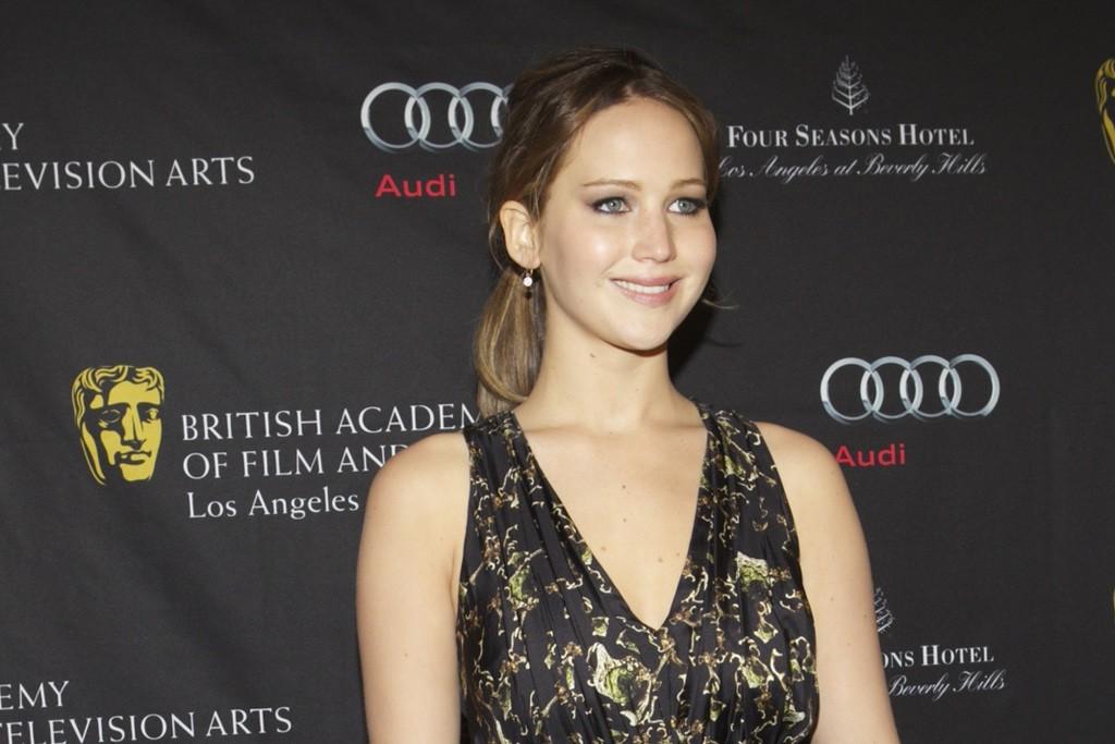Jennifer Lawrence in Altuzarra