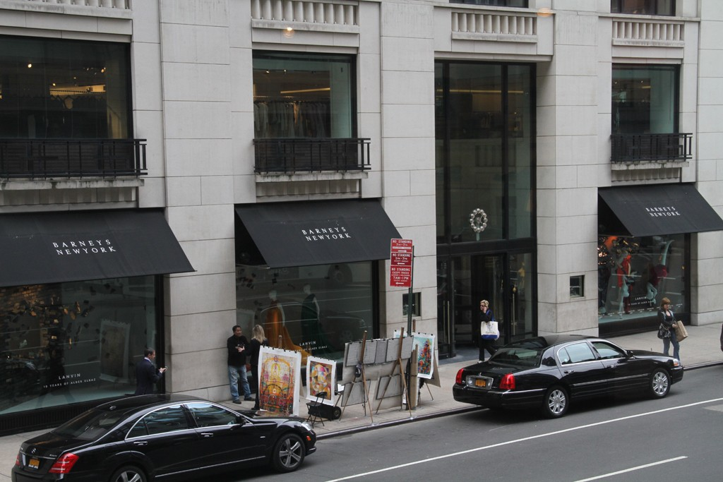 The new deal will reduce Barneys' long-term debt from $590 million to $50 million.