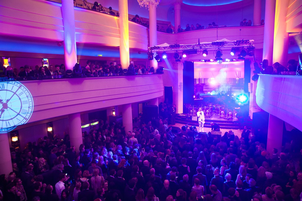 The scene at the opening party for Bread & Butter in Berlin.