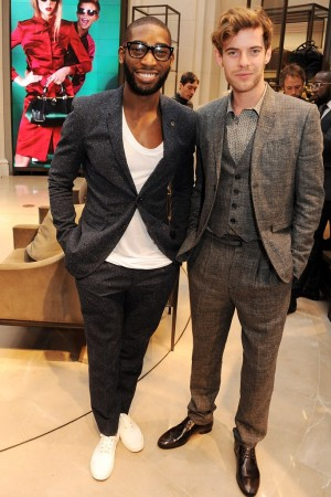 Tinie Tempah and Harry Treadaway