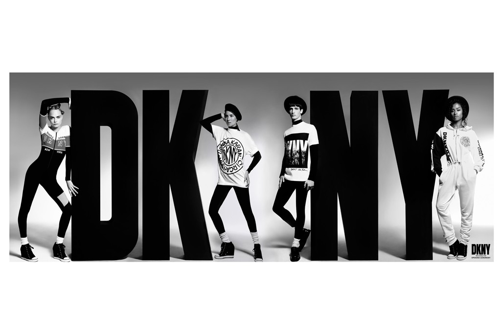 DKNY is reissuing signature looks from the early Nineties with Opening Ceremony.