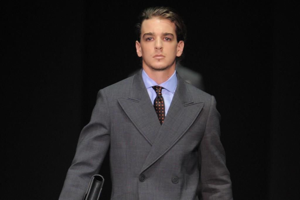 Emporio Armani Men's RTW Fall 2013