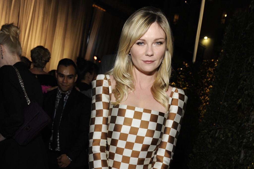 Kirsten Dunst in Louis Vuitton.