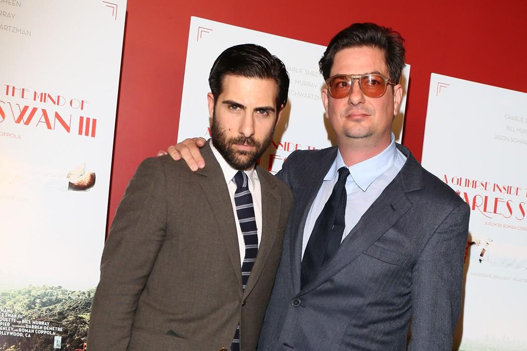 Jason Schwartzman and Roman Coppola