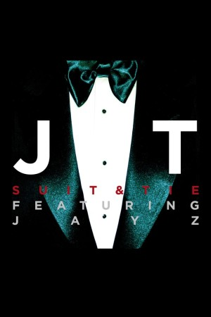 "The cover for ""Suit & Tie,"" featuring Jay-Z."