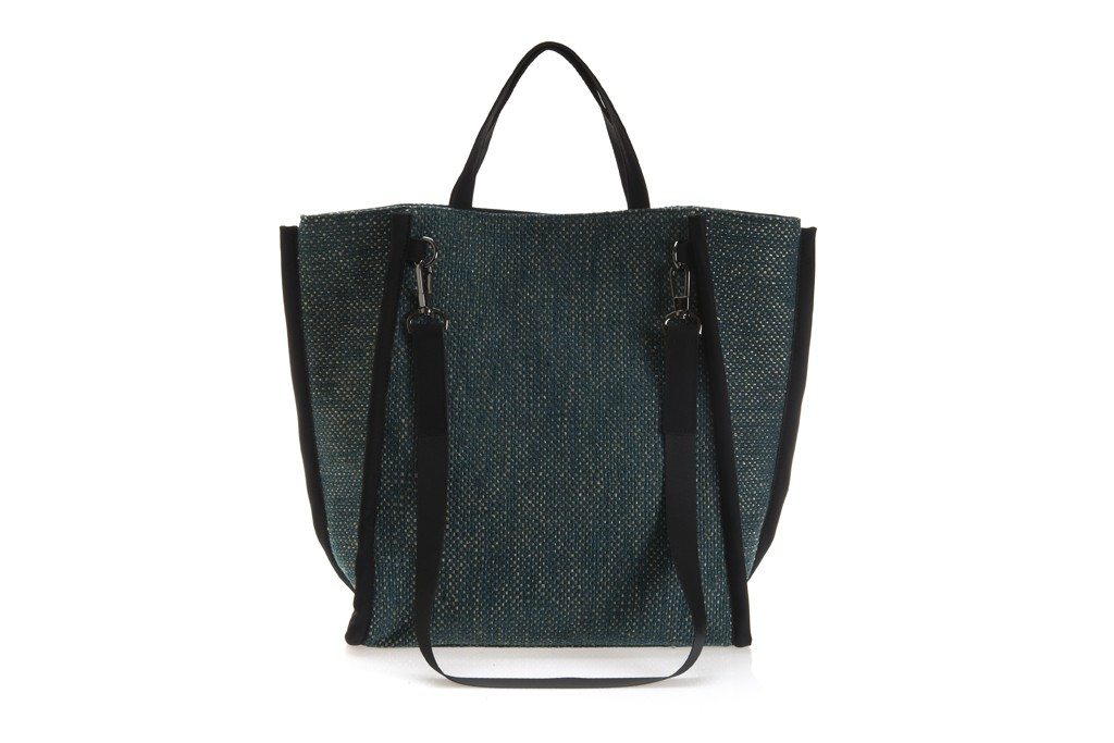 A French Connection handbag by PLV Studio.