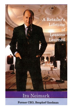 Ira Neimark on the cover of his latest book.