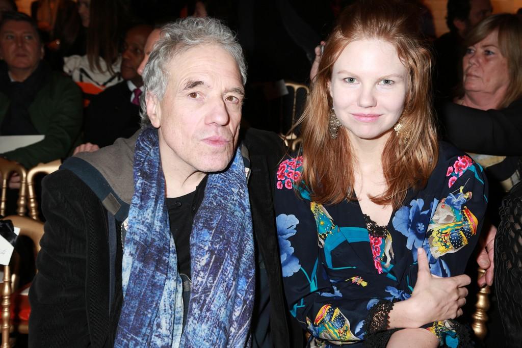 Abel Ferrara and his girlfriend