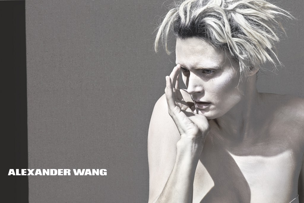 An ad from Alexander Wang's spring 2013 campaign.