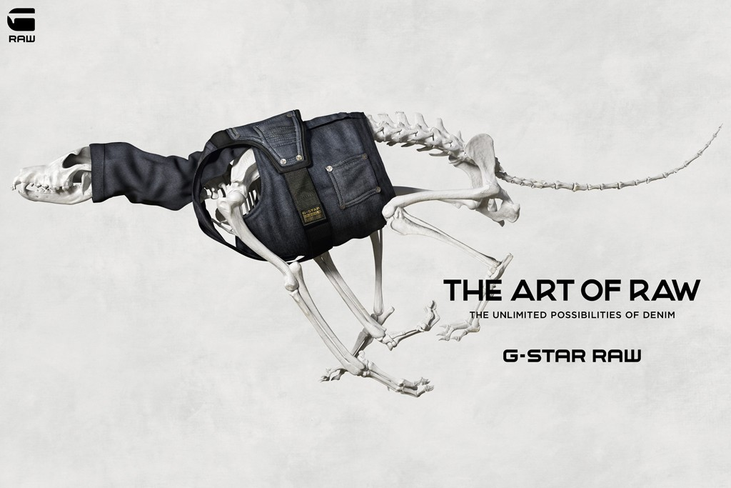 An image from the G-Star Raw campaign.