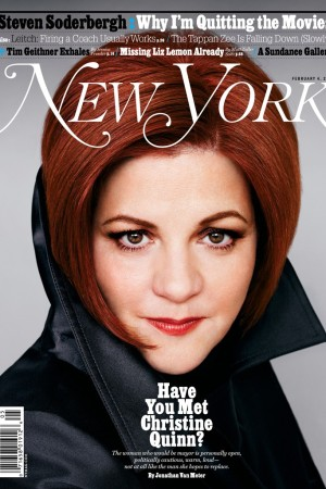 The February 4 issue of New York magazine photographed by Ruven Afanador.