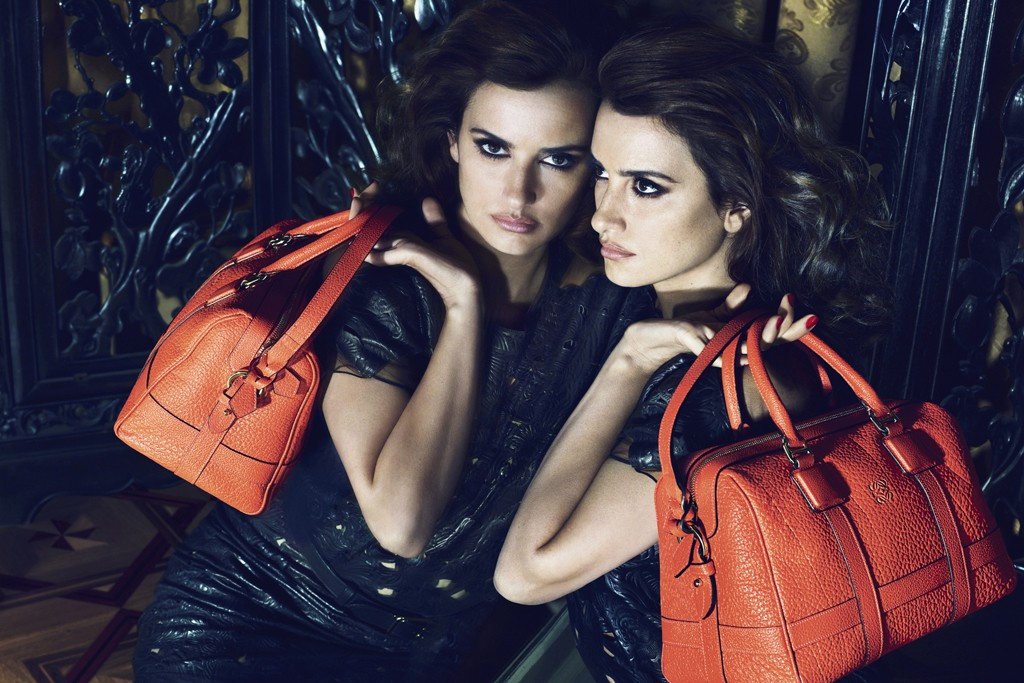 Penélope Cruz appears in Loewe's spring campaign.