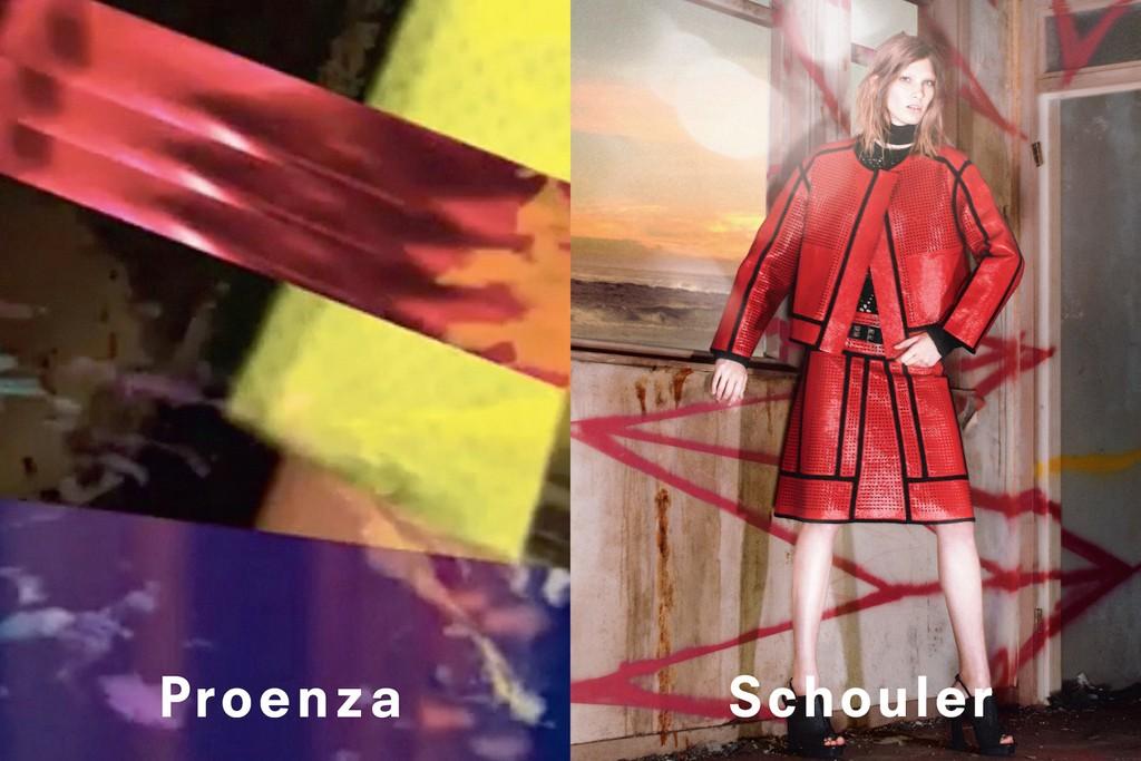 Proenza Schouler's spring campaign.