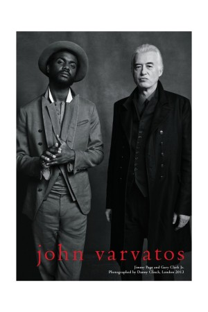 Gary Clark Jr. and Jimmy Page in the new John Varvatos campaign.