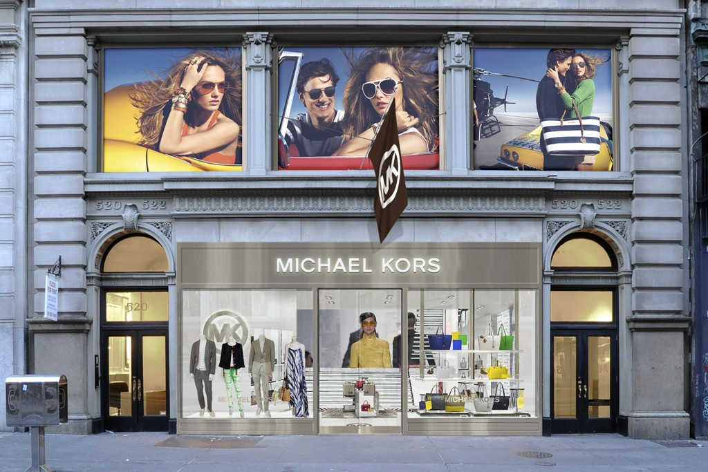 A rendering of the new Michael Kors flagship in SoHo.