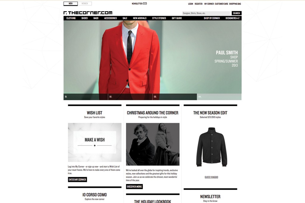 Thecorner.com has teamed with Pitti Uomo to help men with their fashion decisions.